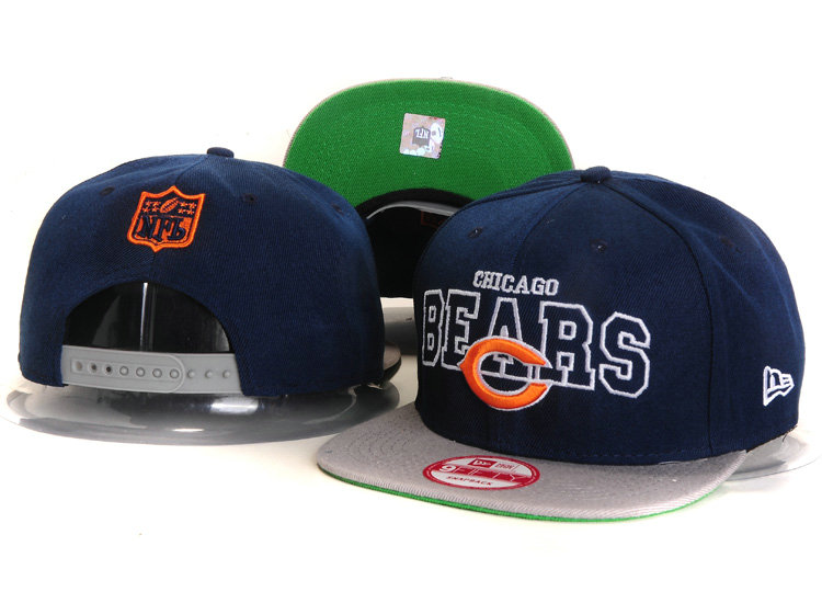Chicago Bears Blue Snapback Hat YS